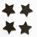 star brown magnet pack of four