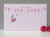 Personalised Pink bunting